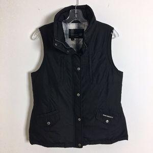 NEW BALANCE down vest black size M women's